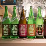 四季のバル - 日本酒 花巴