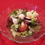 アルコバレーノ - 「海鮮サラダ」です。