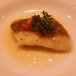 アルコバレーノ - 「鯛のアクアパッツァ」です。