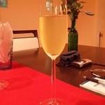 アルコバレーノ - お口直しは「水出し玉露」です。