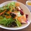 グランログス - 料理写真:サラダとパンプキンのポタージュ