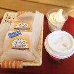 森の菓子工房MoonDeer - 料理写真:チーズバーガー(お菓子です)