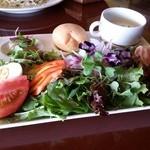 パームビーチ - 「糸島産ハーブ野菜のサラダランチ」です。