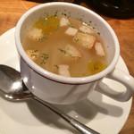 クォーレ - 玉ねぎのスープ100円