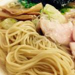 喜元門 - ストレートの細麺
