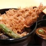 京ぜん - 料理写真:大海老天丼