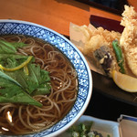 京ぜん - 料理写真:大海老天ぷら蕎麦