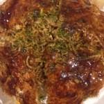 広島流お好み焼つかさ - 広島流お好み焼き、海老&イカ入りのスペシャル♪