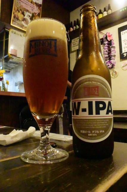 おおの家 - W-IPA、鉄板の美味さ!