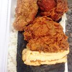 ほっかま弁当 - 料理写真:のり弁  410円