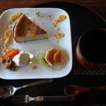 ナイヤビンギ - 豆腐のチーズ風ケーキ