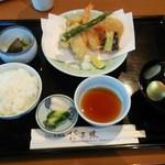 花三昧 - 天ぷら定食