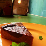 cafe EZE - チョコとキャラメルのチーズケーキ