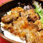 十番 - カルビ丼です!(^_^)b