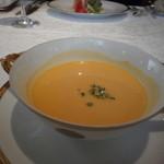 資生堂パーラー - 南瓜の冷製スープ