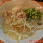 神戸ちぇりー亭 - 北の塩らぁめん 肉男盛りver ¥約1000円