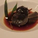 東京チャイニーズ 一凛 - 酔っ払い蟹、内子がうまい。タレは花山椒のアクセントが効いており、うまい。