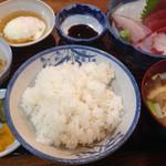 みのや - 刺身定食(1,000yen)