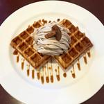 カフェブラン - 料理写真:キャラメルマロン