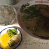 50番 - 料理写真:ラーメン=400円 小めし=100円