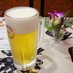 サンサール - 生ビールは、サッポロ。