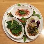 本日のおすすめタイ料理 3種