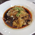 43980584 - 冷製よだれ鶏 これに、ご飯・前菜・杏仁豆腐・お茶がついて、2250円。