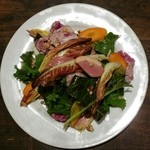 青 AO - 鴨肉と地野菜のサラダ