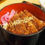 朱雀亭 - ミニソースカツ丼