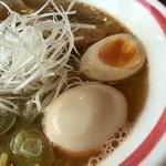 麺部屋 綱取物語 - えびしお 780円+煮卵