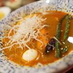 スープカリーバグース - ほろほろチキンスープカレー