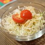 スープカリーバグース - セットサラダ
