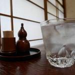 吉法師 - 蕎麦焼酎 ロック(なみなみグラス一杯♪)