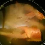 宇奈月麦酒館 - 紅ズワイガニの味噌汁