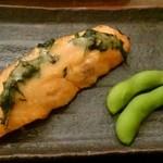 宇奈月麦酒館 - 焼き鮭