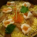 宇奈月麦酒館 - 蒸しせいろご飯