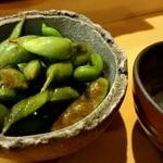 すし 誠十郎 - 料理写真:黒豆