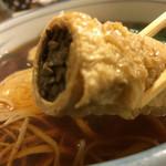 魚要 - 湯葉蕎麦1200円