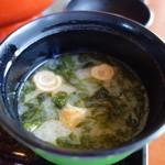 レストランダイニング富士 - 味噌汁