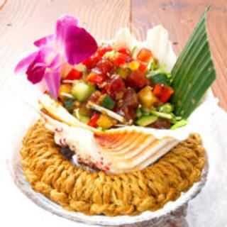 話題のハワイ料理が豊富♪♪