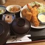 喜一 - ミックスフライ定食