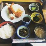 サン・クルーズ - 日替わり定食 エビフライ750円