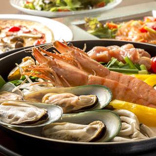 海鮮アラビアータ鍋