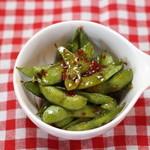 手づかみシーフード Makky's The Boiling Shrimp - スパイシー枝豆