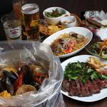 手づかみシーフード Makky's The Boiling Shrimp - パーティーコース(飲み放題付)