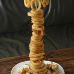 手づかみシーフード Makky's The Boiling Shrimp - オニオンリングタワー(L size)