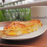 breadworks - クロックムッシュ+コーヒー