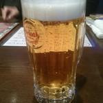 空 - オリオン生ビール:550円