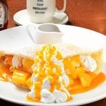 ABBOT KiNNEY - マンゴーパンケーキ マンゴーミルクアイス入