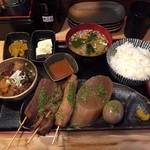 酒道 ハナクラ - 静岡おでん定食 702円(税込)